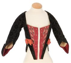 Imatex. 18th c. velvet jacket with cuffs