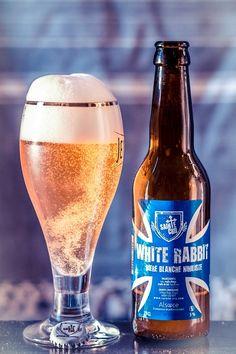 60 White Rabbit de Sainte Crucienne Une blanche fruitée brassée à Colmar. Honorable....