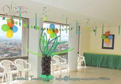 Decoración Fiesta Selva Niño www.happy-occasions.com