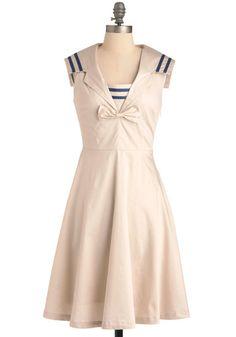Sailor Dress. Love it!