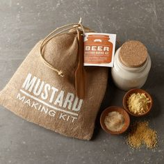 Beer Mustard Kit | Williams-Sonoma