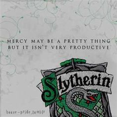 Well. This is appaling but I laughed... so that may confirm my self-declaration that I am a Slytherin.