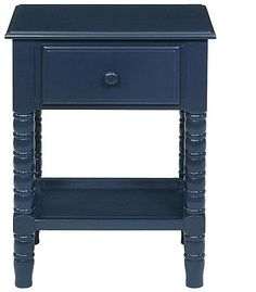 Video Review for Shermag Jenny Lind Night Stand - Navy Blue showcasing product features and benefits