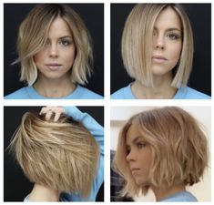 42 Cute Short Bob Haircuts for Women in 2019 Short haircuts are really trendy now. Most women want to try this style and one of the best short haircuts is bob. Bob is one of the most popular hairstyles today, and there are many styles to choo… Bob Haircuts For Women, Short Bob Haircuts, Summer Haircuts, Wavy Bob Hairstyles, Popular Hairstyles, Thin Hair Bob Haircut, Trendy Hairstyles, Bob Cut Hair, Chinese Bob Hairstyles