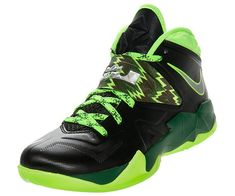 Free Shipping Only 69  Nike Zoom Soldier VII Black Gorge Green Neon 609679  004 d63c8f20de