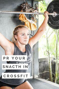 PR your Snatch in CrossFit #crossfit