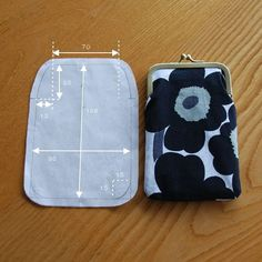 Cute coin purse sewing pattern!
