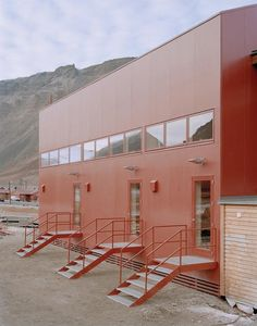 somewhere in iceland Longyearbyen, Facade Architecture, Contemporary Architecture, Dream Home Design, My Dream Home, Exterior Design, Interior And Exterior, Swimming Pool House, Facade House