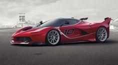 La nouvelle FXX K de Ferrari, basée sur la sublime LaFerrari, et capable de développer 1.050 ch grâce à sa motorisation hybride