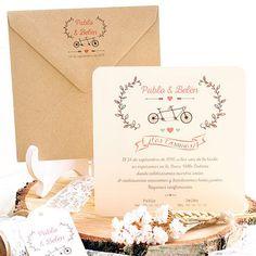 Imprescindibles para tu boda: Invitaciones de boda