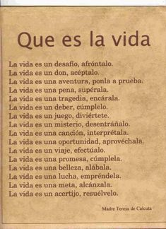 Sayings in Spanish. Learn about popular sayings and proverbs in Spanish The Words, More Than Words, Frases Dela, Quotes En Espanol, Little Bit, Spanish Quotes, Motivation, Favorite Quotes, Me Quotes