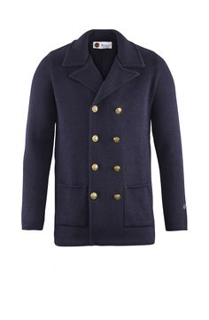 Tom Jacket in Marine Toms, Menswear, Pullover, Blazer, Stylish, Casual, How To Make, Jackets, Shopping