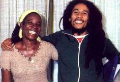 **Bob Marley** & Rita Marley, Milan, Italy, June Bob Marley & The Wailers are receiving the Golden Record Award. Bob Marley Legend, Bob Marley Wife, Reggae Bob Marley, Damian Marley, Stephen Marley, Kingston, Bob Marley Pictures, Marley Family, Jah Rastafari