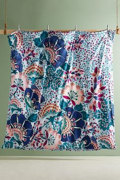 Slide View: 3: Liberty for Anthropologie Embroidered Feather Bloom Duvet