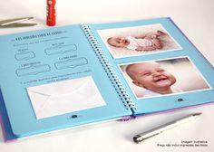 Diário do Bebê Personalizado - Menino