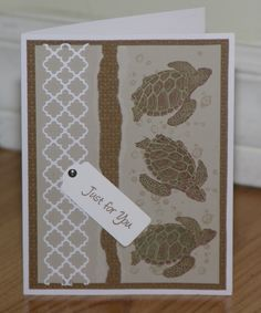 Turtle Beach by mayodino - Cards and Paper Crafts at Splitcoaststampers