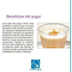 Conoce los beneficios del yogurt