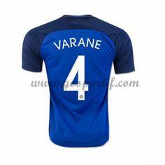 maillot de foot équipe nationale France 2016 Raphael Varane 4 maillot domicile