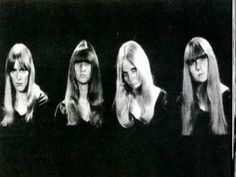 """♣♀60s Garage Girl Bands (pt. 2)♀ツ. ...hot sexy moody looking women with """"hair""""!!!...lol....1GXG Dutch Readers;""""..tapijten...tapijten overal"""" lolz"""