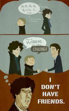 Jaawwwnnn. Sherlock was trying to be nice.