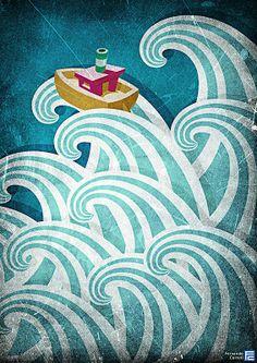 Un punto de vista: Las olas