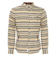 Fall '12 Southside Stripe Woven. Cotton stripe flannel.