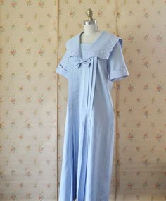 Vintage LAURA ASHLEY Sailor Dress by MariesVintage on Etsy