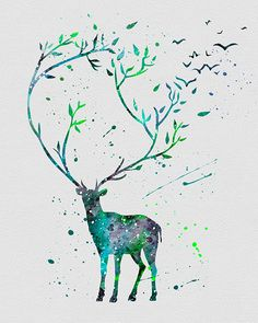 For all of you who dodged great feats and found yourself over winter with family on hillsides snuggling and holding steady for spring thaw. You are the keepers of the woods, great spirits. (watercolor deer to draw) Animal Drawings, Cool Drawings, Winter Drawings, Pretty Drawings, Deer Art, Oeuvre D'art, Painting & Drawing, Dress Painting, Dress Drawing
