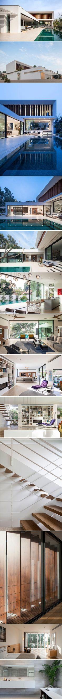 A Modern Mediterranean Villa By Paz Gersh Architects | CONTEMPORIST
