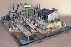 O Scale Dioramas: Nice works from a fellow diorama builder, Laurie Green