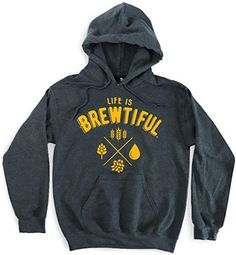 Looking for Apparel Life Brewtiful Pullover Beer Hoodie -Hooded Sweatshirt ? Check out our picks for the Apparel Life Brewtiful Pullover Beer Hoodie -Hooded Sweatshirt from the popular stores - all in one. Funny Sweatshirts, Sweatshirts Online, Hooded Sweatshirts, Hoodies, Long Hoodie, Long Sleeve Shirts, Beer, Pullover, Store