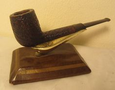 Stanwell De Luxe Sandblast Saddle Billiard Estate Briar Tobacco Pipe Denmark