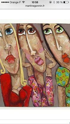 Les lolitas Art Visage, Art Tutor, Portrait Art, Portraits, Whimsical Art, Drawing People, Face Art, Figurative Art, Painting Inspiration