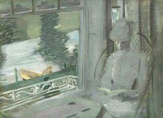 John Singer Sargent. Madame Helleu at Fladbury.