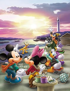 Walt Disney Mickey Mouse and friends.