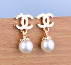 rand Fashion Drop Earring with Simulated Pearl Vintage Style