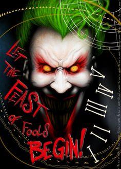 Arkham Asylum by on DeviantArt Bat Joker, Joker Pics, Joker Art, Joker And Harley Quinn, Comic Movies, Comic Book Characters, Fantasy Characters, Joker Dc Comics, Dc Comics Art