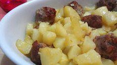 Salsicce e patate a Varoma