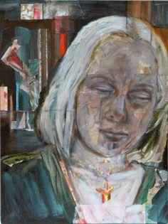 """Saatchi Art Artist Kathleen Noyes; Collage, """"City Blonde"""" #art"""
