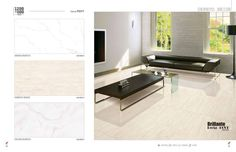 Elegance and beauty in a pleasing #design along with attractive quality.  #Grace Luxury Series - Millennium #Tiles 600x1200mm (24x48) Brilliante Recta PGVT Large Format #porcelaintiles  - Arena Bianco - Derevo Beige - Eagan Bianco  - Random Technology: The random feel technology give a full natural feeling and variations in every type of design, more realistic and artistic.