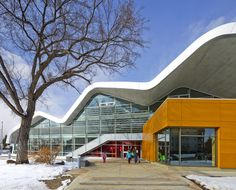 Image 1 of 25 from gallery of Jasper Place Branch Library / HCMA/Dub Architects. Photograph by Gerry Kopelow