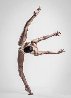 Ballet's beauty.