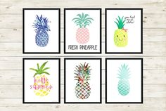 I rounded up my favorite free pineapple printables from around the Internet. These 30 are the best. Bookmark for later, when you need a sweet piece of art!