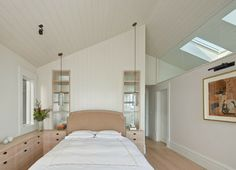 Cole Valley Residence transitional bedroom