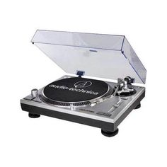 Shop for Audio Technica Direct Drive Professional DJ Turntable with USB Output. Get free delivery On EVERYTHING* Overstock - Your Online Home Theater & Audio Store! Best Record Player, Vinyl Record Player, Record Players, Vinyl Records, Lp Player, Radios, Dvd Blu Ray, Musica Disco, Direct Drive Turntable