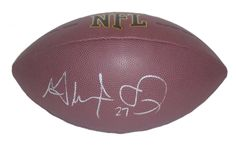 SOLD OUT! Detroit Lions Glover Quin signed NFL Wilson full size football w…