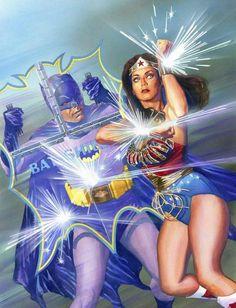 DC Comics estrena Batman y la Mujer Maravilla -...