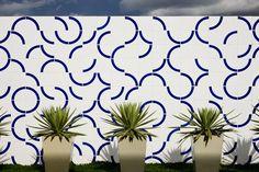 Athos Bulcão - Painel de azulejos, Centro de Formação e Aperfeiçoamento da Câmara dos Deputados - CEFOR, 2003.. Foto: Edgar César Filho