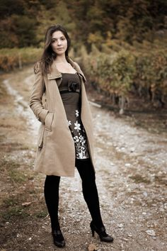 In the vineyard of Valais Places To Travel, Vineyard, Coat, Jackets, Fashion, Down Jackets, Moda, Sewing Coat, Fashion Styles