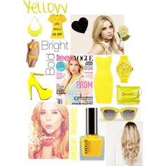 Ashley benson- yellow